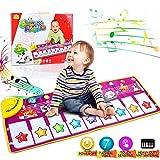 AniSqui Klavier Playmat, Kinder Klaviertastatur Musik Playmat Spielzeug, große Größe (39 * 14...