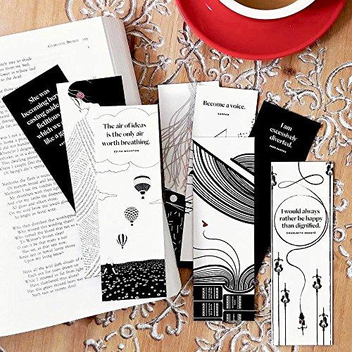 Bookmarks, Women Writers Bookmark Set