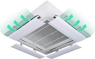 Aire acondicionado deflector de viento (Paquete De 4 Deflector Central Aire Acondicionado Anti Soplado Directo De 76 Cm De Longitud