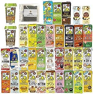 [多種お試しセット]( 豆乳 ) キッコーマン 豆乳飲料 アソート 32種類 200ml 季節限定+キッコーマン マカダミアミルク 2点 [ホームショッピングオリジナル味海苔付]