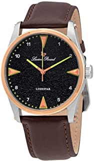 Lucien Piccard Lodestar Grey Dial Men's Watch 40035-014-RB-BRW