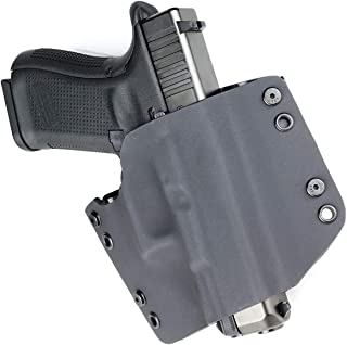 R&R Holsters: Black - OWB Kydex Hoslter - Outside The Waistband