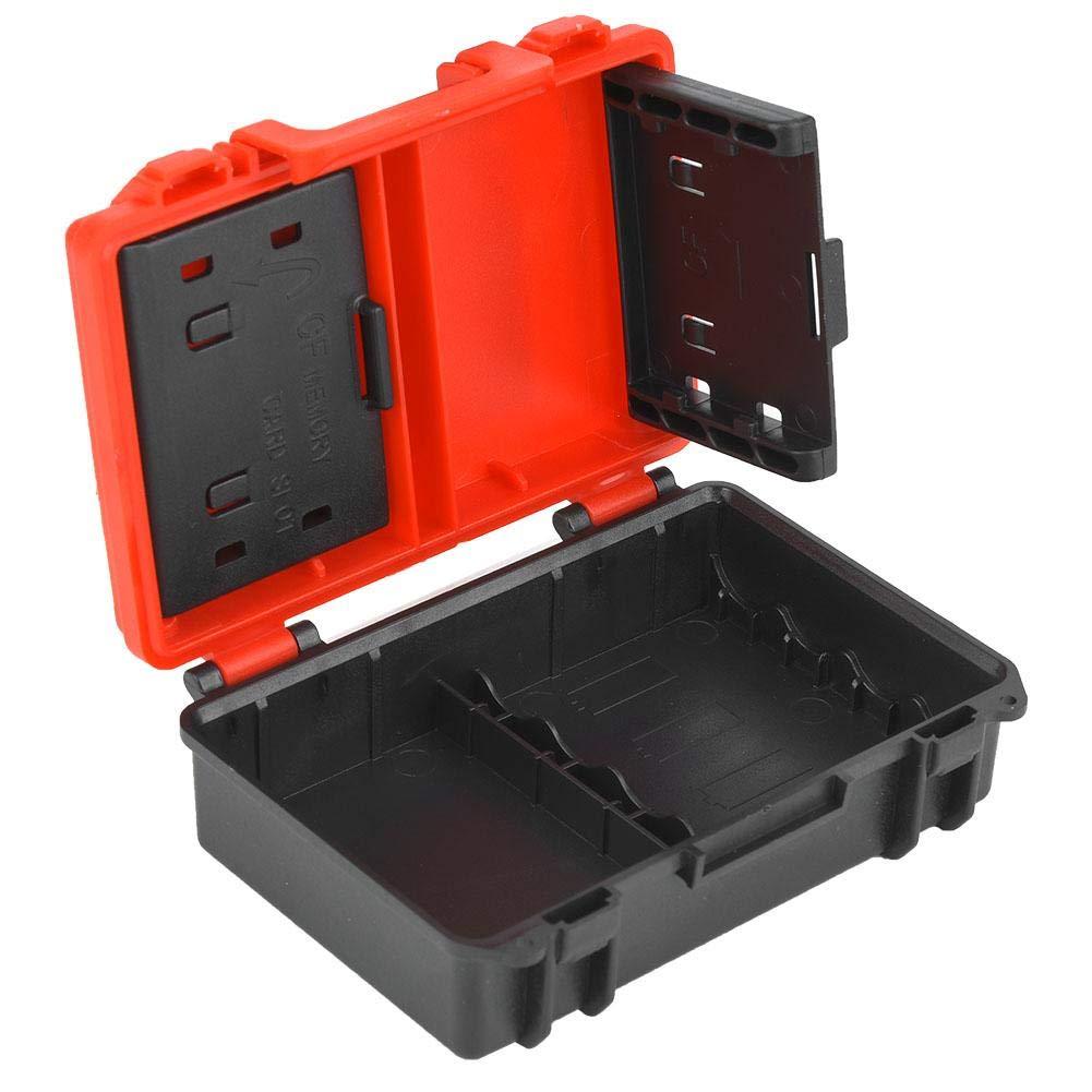 Caja de almacenamiento de la batería de la cámara y la tarjeta de memoria, caja porta