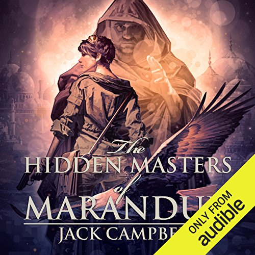 Page de couverture de The Hidden Masters of Marandur
