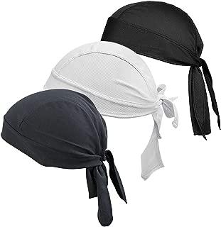 Bicycle Running mask doo rag Skull Cap Skull hat Pack of 3