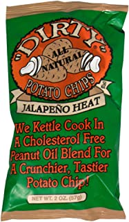 Dirty Chips Jalapeno Heat, 2-Ounce (Pack of 25)
