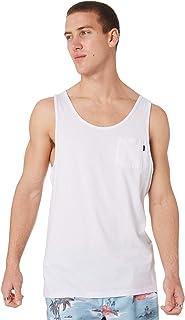 Rip Curl Men's Plain Mens Tank Cotton White