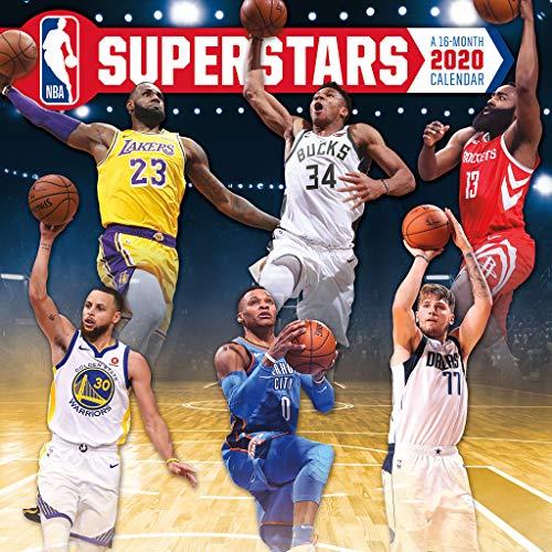 NBA Superstars 2020 Calendar