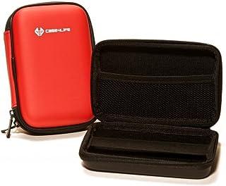 Case4Life Rojo Dura cámara compacta Funda Caso Bolsa para Panasonic Lumix DMC-3D1 DMC-FT5 DMC-TZ40 DMC-TZ57 DMC-TZ60 DMC-TZ70 DMC-TZ80EB - Garantía de por Vida