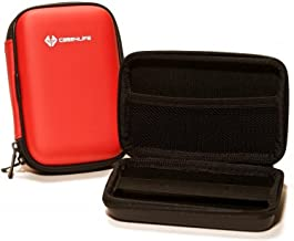 Case4Life Red Hard Shockproof Digital Camera Case Bag for FujiFilm Finepix XF1  X100  X100T  XP200  XP90  X-A2  X-E2S Real W1