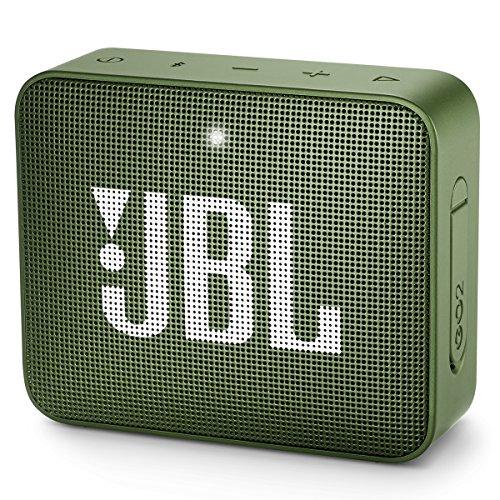 JBL GO2 - Tragbarer wasserdichter Lautsprecher, kabellos, mit Bluetooth, Freisprecheinrichtung und beiliegenden wiederaufladbaren Batterien.