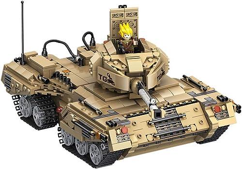 aquí tiene la última Juguetes para Niños, modelo de de de tanque de bloques de construcción ensamblando e insertando bloques de construcción de juguetes de deformación de rompecabezas de partículas Pequeñas (más de 6 años)  últimos estilos