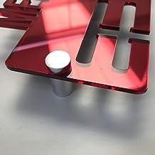 Servewell Skateboarder Medal Hanger Red Mirror