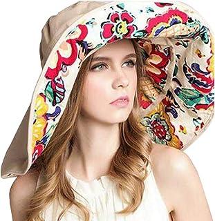 OZ SMART Wide Brim Sun Hat UPF 50 + UV Protection, Women Premium Multiple Styles Bucket Hat with Detachable Brim Extension...