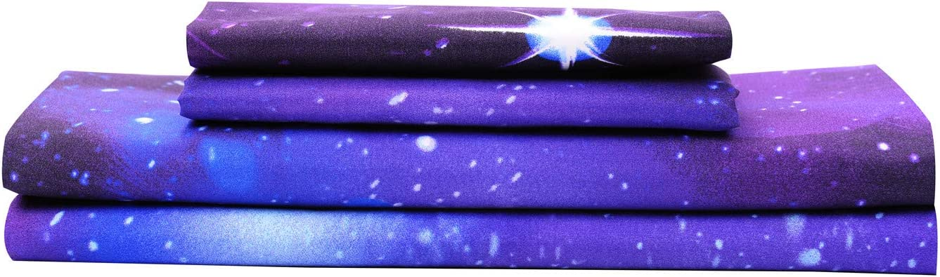 Genuine Free Shipping Bedlifes Galaxy Sheets mart Outer Sheet Set Space Themed