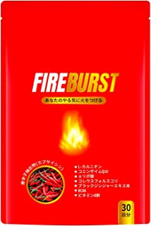 【FIRE BURST】 L-カルニチン BCAA サプリ 厳選素材 30日分