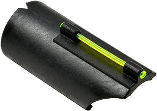 Sniper® Snap-on FO Fiber Optic Front Sight Kit Plain Barrel Shotgun - 12/20 Gauge; Choice Green Red Light Pipe