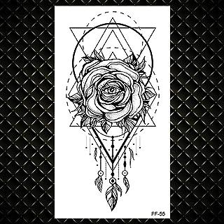 Tijdelijke Tattoo Voor Kinderen Vrouwen Hart Karakter Tattoo Woord Kleine Letter Waterdicht Tatoos Oor Vinger Body-GFF055