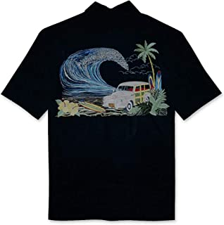 Woody Island Back Embroidered Camp Shirt