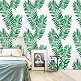 17.71''X118'' Tropical Palm Peel and Stick Wallpaper Green Contact Paper for Countertops Removable...