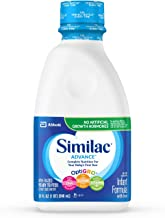 Similac Advance Infant Formula with Iron, Ready to Feed, 1 qt (Pack of 6)