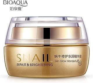 BIOAQUA SNAL Repair Whitening & Brightening Cream Skin Glow Wonderful Vitality Impart 50g