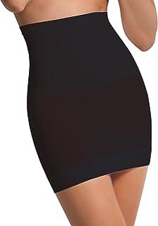 SENSI' Sottogonna Modellante Donna Comfort Vita Alta Morbida Microfibra Senza Cuciture Seamless - Made in Italy