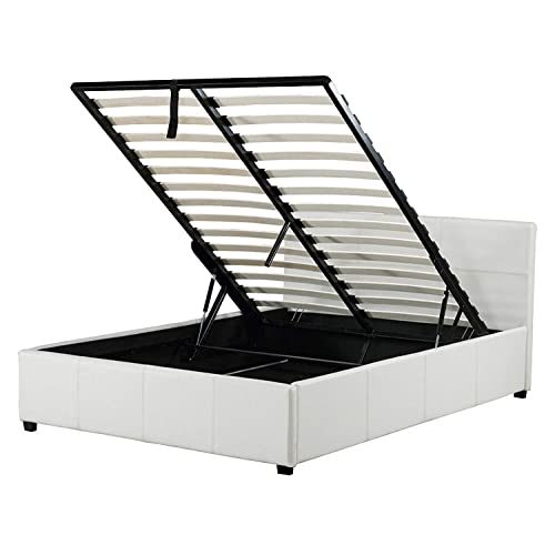 best sneakers d1b19 3d6c1 4ft Small Double Storage Beds: Amazon.co.uk