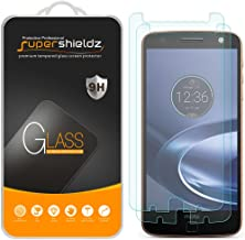 Supershieldz (2 Pack) for Motorola (Moto Z Force Droid) Tempered Glass Screen Protector, Anti Scratch, Bubble Free