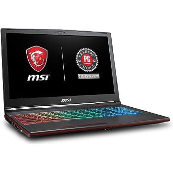 "MSI GP63 Leopard-077 15.6"" Performance Gaming Laptop i7-8750H (6 cores), NVIDIA GeForce GTX 1060 6G, 256GB NVMe SSD + 1TB HDD, 16GB RAM, Win 10, VR Ready, RGB KB"