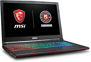 "MSI GP63 Leopard-077 15.6"" Performance Gaming Laptop i7-8750H (6 cores), NVIDIA GeForce GTX 1060 6G, 256GB NVMe SSD + 1TB HDD, 16GB RAM, Win 10, VR Ready, RGB KB"