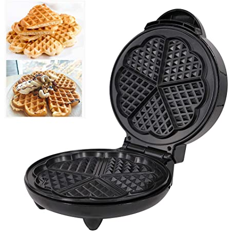 Black Chef/'sChoice WafflePro 830 Traditional Five-of-Hearts Waffle Maker Discontinued by Manufacturer
