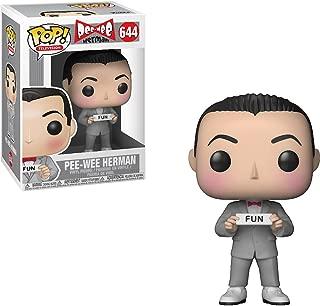 Funko Pee-Wee Herman: Pee-wee's Playhouse x POP! TV Vinyl Figure & 1 POP! Compatible PET Plastic Graphical Protector Bundle [#644 / 21785 - B]
