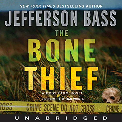 The Bone Thief audiobook cover art