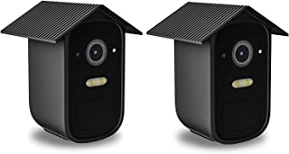 Koroao Silicone Skin for eufyCam 2C - All-Round Protect Cover Weatherproof Anti-Scratch Silicone case for eufyCam 2C(Black)