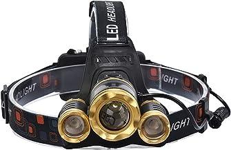 XINGTAO Hoofd Zaklamp LED XM-L T6 Zoom Koplamp Hoofd Lamp Verlichting Zaklamp Vissen 18650 Batterij Oplader Lampen Waterdi...