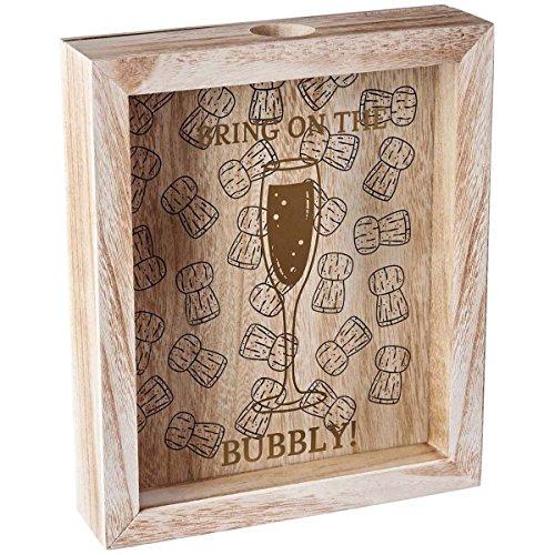 Homes on Trend Esposizione di stoccaggio della Scatola della Raccolta 3D della Bottiglia di Vino Champagne Champagne/Bottiglia di Birra 3D