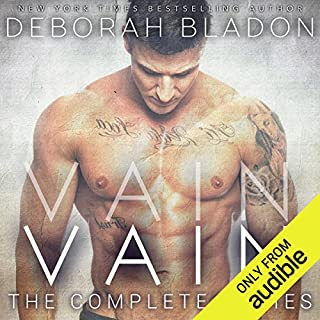 VAIN - The Complete Series     Part One, Part Two & Part Three              Written by:                                                                                                                                 Deborah Bladon                               Narrated by:                                                                                                                                 Morias Almeida                      Length: 7 hrs and 10 mins     Not rated yet     Overall 0.0