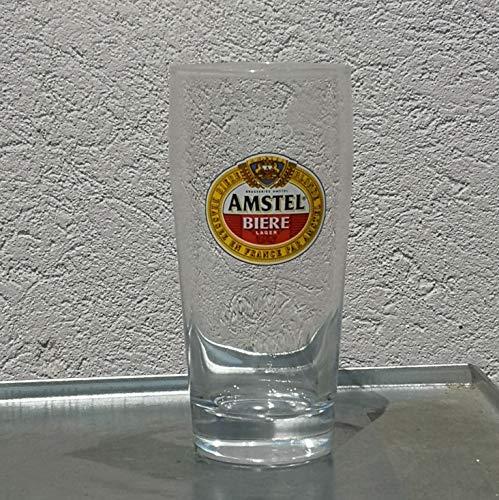 Amstel bierglas, 25 cl, 6 stuks