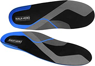 Plantar Fasciitis Feet Insoles Arch Supports Orthotics Inserts Relieve Flat Feet, High Arch, Foot Pain Mens 11-11 1/2 | Wo...