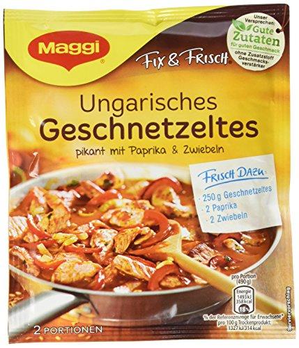Maggi Fix und frisch für Ungarisches Geschnetzeltes, 37er Pack (37 x 42 g)