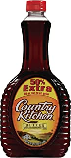 Country Kitchen Syrup, Butter, 36 Ounce
