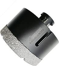 SHDIATOOL Diamond Core Drill Bits 3 1/2 Inch for Porcelain Ceramic Tile Marble Brick Vacuum Brazed Hole saw 89mm