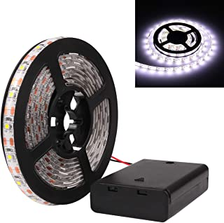 Tira de luces Powstro de 5 V, de LED, resistentes al agua, 3528 SMD, para fiestas, Cool White, 50cm/1.64ft