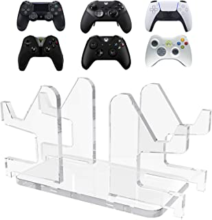 LinkIdea Game Controller Stand Holder, 4 to 1 Game Bracket Manual Splicing Controller Organizer with Base for Xbox One, S,...
