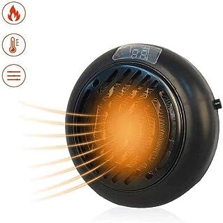 SCDFS Ventilador eléctrico portátil, Calefactor doméstico, Mini Calentador, con protección contra sobrecalentamiento, Disponible en la Oficina en casa, Negro, Blanco (Color : Black)