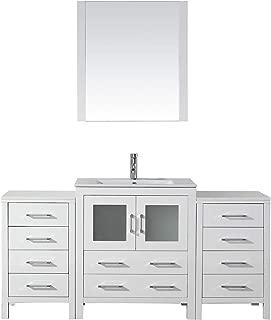 66 bathroom vanity cabinet