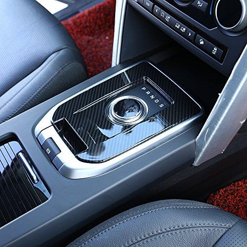 Für Discovery Sport Carbon Faser Luxus Innen Zubehör Gear Shift Cover Trim 1