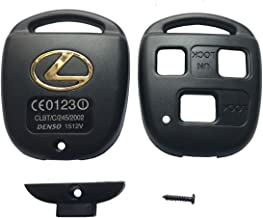 3 Buttons Replacement Keyless Entry Remote Control Key Fob Case Shell fit for Lexus ES GS GX IS LS LX RX SC ES300 ES330 ES350 IS250 IS350 GX470 Key Fob Cover
