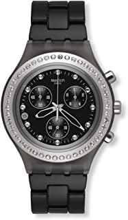 Swatch Chrono Full Blooded Stoneheart Silver Aluminum Unisex Watch SVCM4009AG